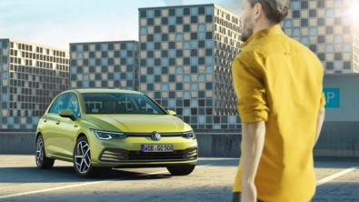 The All New Volkswagen Golf MK8 Debuts 1
