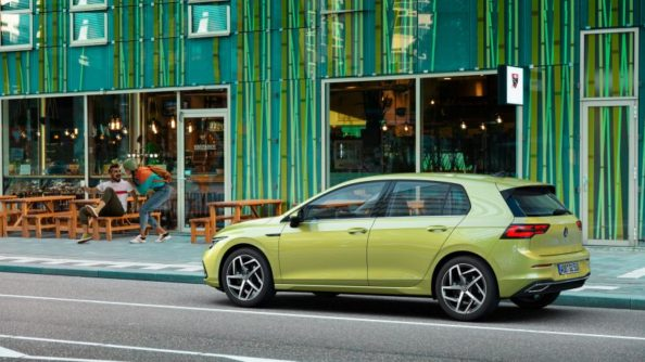 The All New Volkswagen Golf MK8 Debuts 4