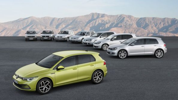 The All New Volkswagen Golf MK8 Debuts 11