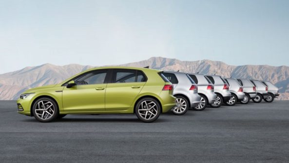 The All New Volkswagen Golf MK8 Debuts 12