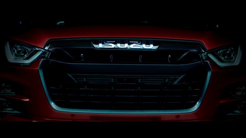 Next Generation Isuzu D-Max to Debut on 11th October 9