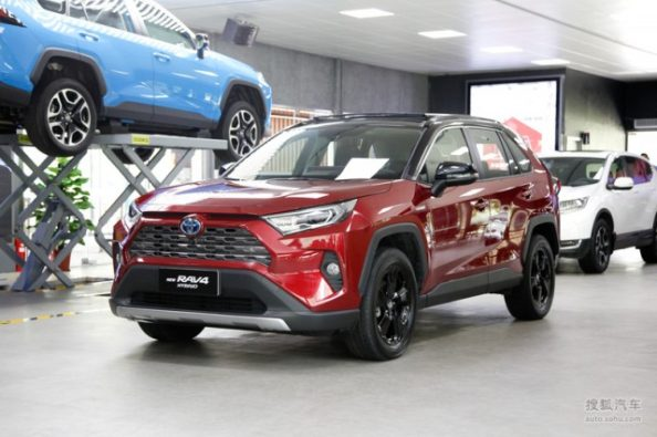 Toyota Wildlander to Debut in China by Year End 3