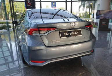 All New Toyota Corolla Launched in Malaysia 7
