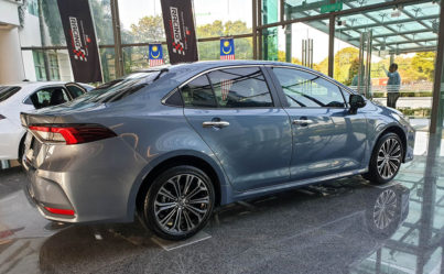 12th gen Toyota Corolla Spotted Testing in Pakistan 5