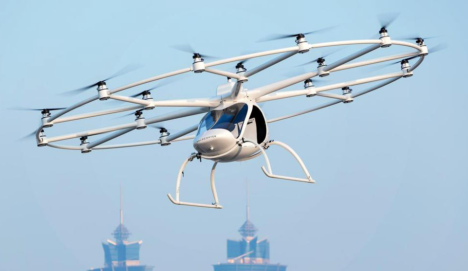 Geely to Launch Air Taxis in China with Volocopter 3