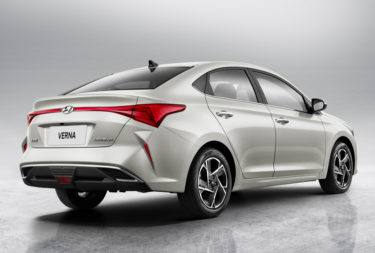 First Official Photos: 2020 Hyundai Verna Facelift 8