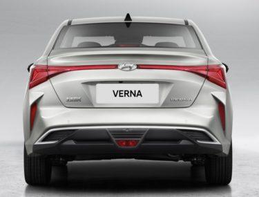 First Official Photos: 2020 Hyundai Verna Facelift 7