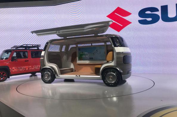 Suzuki Waku SPO and Hanare Concepts at 2019 Tokyo Motor Show 11