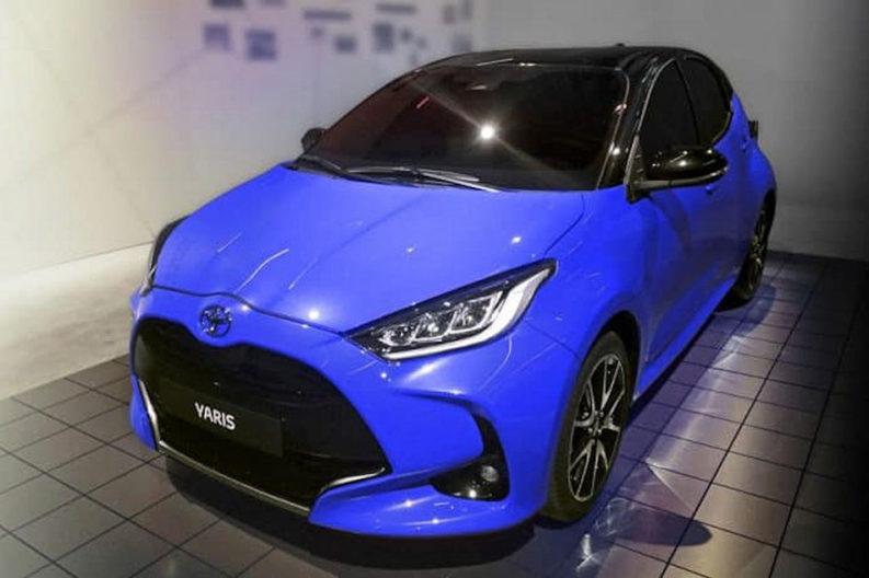 Next Generation Toyota Yaris Leaked Ahead of Debut 2