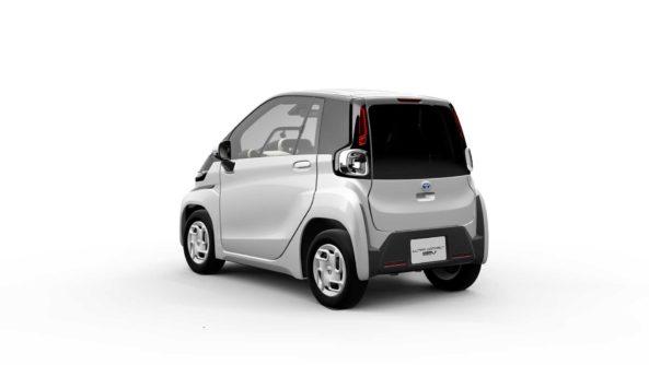 Toyota Reveals Tiny EV Ahead of Tokyo Motor Show 2
