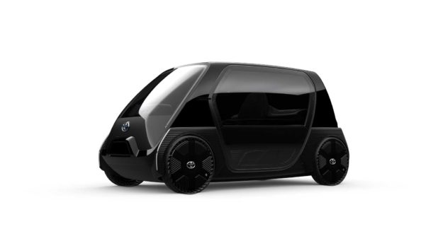 Toyota Reveals Tiny EV Ahead of Tokyo Motor Show 3