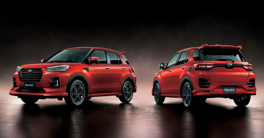 2020 Daihatsu Rocky Compact SUV Launched in Japan 11