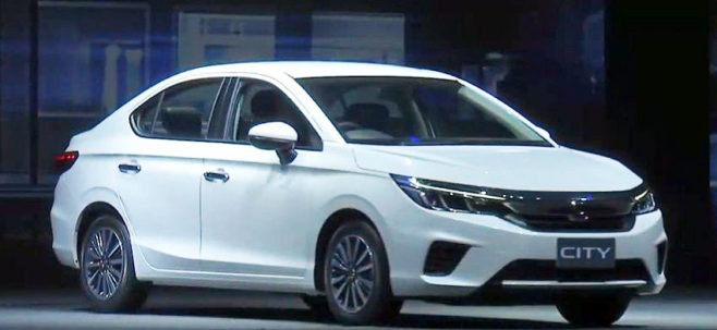 All New 2020 Honda City Debuts in Thailand 21