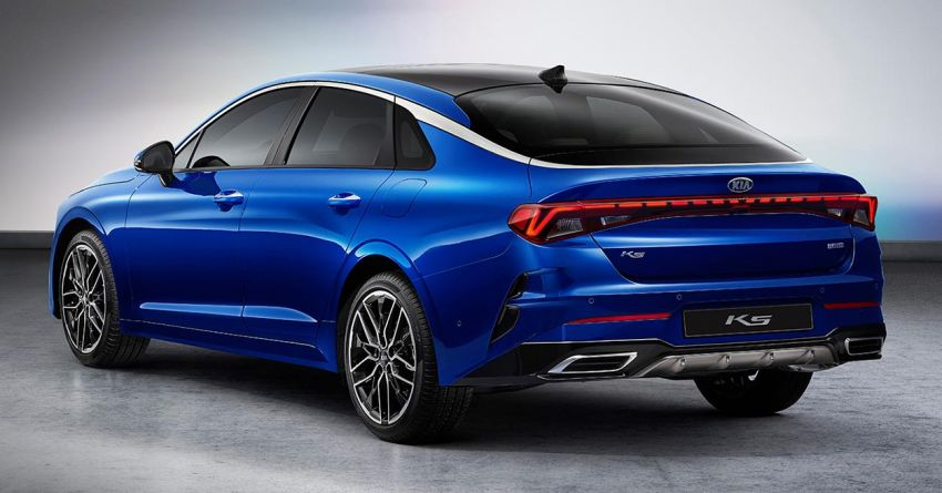First Official Photos of 2020 Kia Optima Released 4