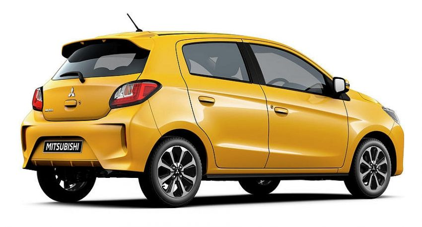 2020 Mitsubishi Mirage and Attrage Facelift Launched in Thailand 4
