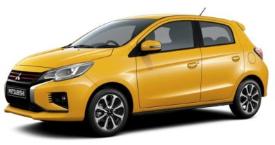 2020 Mitsubishi Mirage and Attrage Facelift Launched in Thailand 2