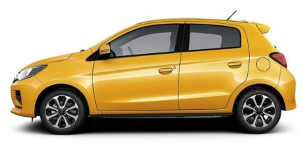2020 Mitsubishi Mirage and Attrage Facelift Launched in Thailand 3