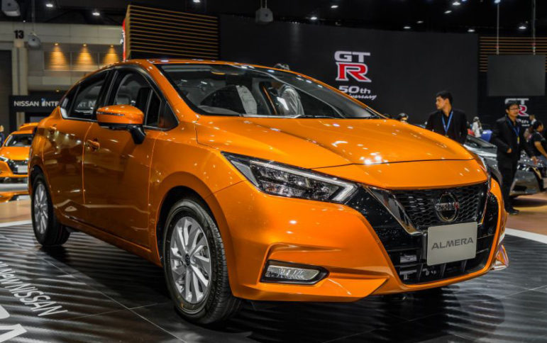 All New Nissan Almera (Sunny) at 2019 Thai Motor Expo 1