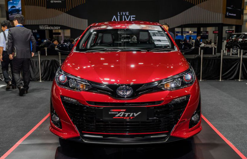 New Toyota Yaris Ativ and Yaris Cross at 2019 Thai Motor Expo 3