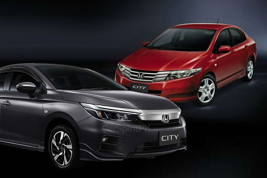 Local Honda City Becomes 2 Generations Old 5