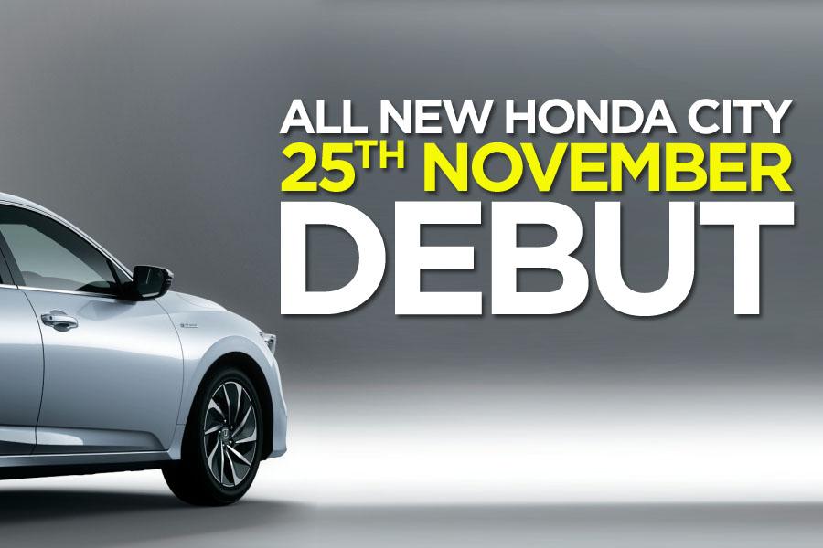 7th Generation Honda City to Debut on 25th November 10
