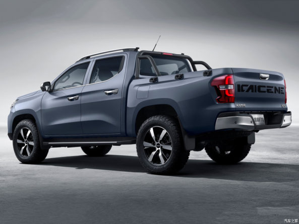 Changan Officially Launches Kaicene F70 Pickup Truck in China 5
