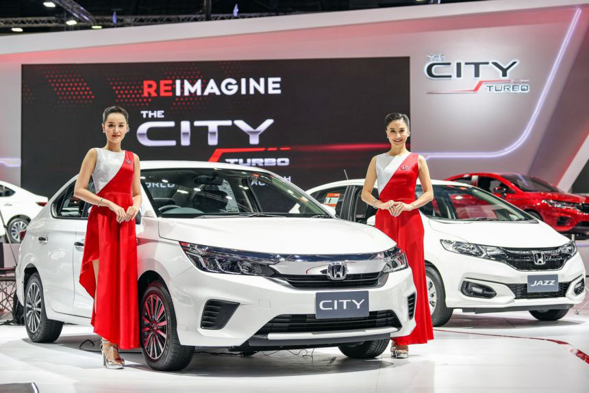 All New Honda City Displayed at 2019 Thai Motor Expo 4
