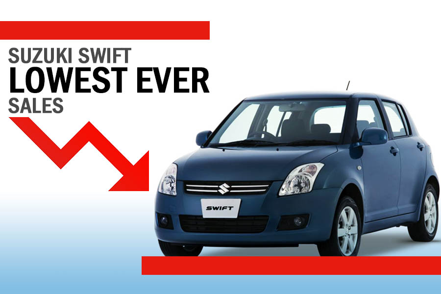 Pak Suzuki Swifts Hits Rock Bottom with Just 151 Units Sold in October 2