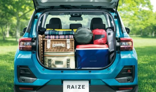 2020Toyota Raize Compact SUV Launched 6