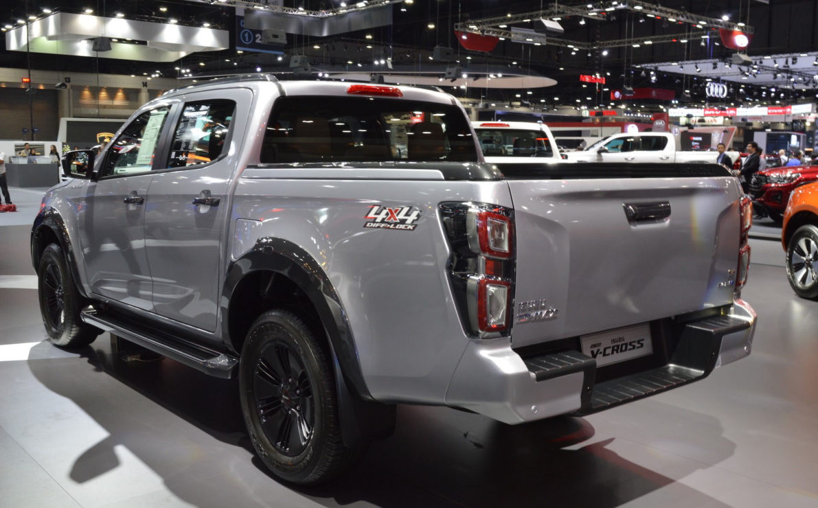 2020 Isuzu D-Max Displayed at Thai Motor Expo 5