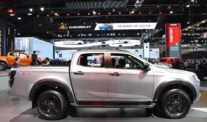 2020 Isuzu D-Max Displayed at Thai Motor Expo 2