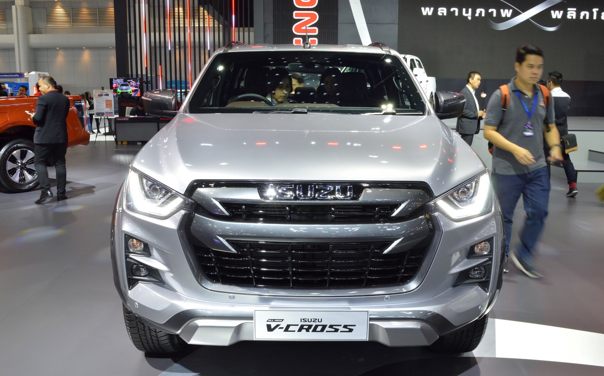 2020 Isuzu D-Max Displayed at Thai Motor Expo 6