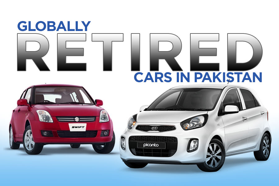 Globally Retired Cars in Pakistan 1