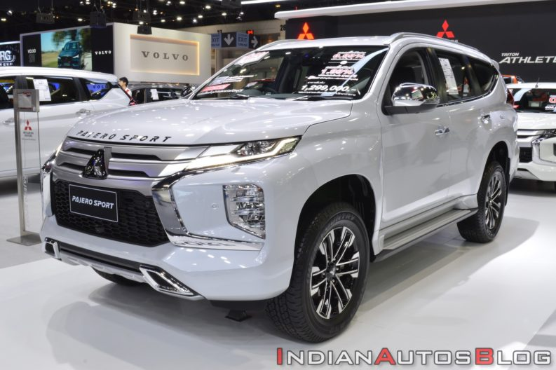 All New Mitsubishi Pajero Sport Displayed at 2019 Thai Motor Expo 1