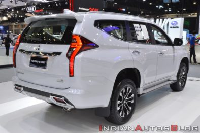 All New Mitsubishi Pajero Sport Displayed at 2019 Thai Motor Expo 3