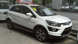 Sazgar's BAIC X25 Crossover Spotted in Lahore 3