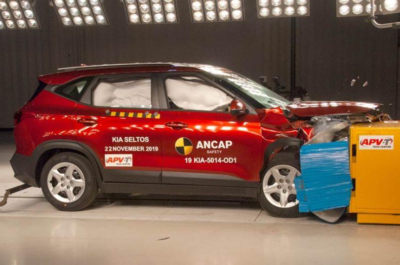 Kia Seltos Scores 5 Stars in ANCAP Crash Tests 1