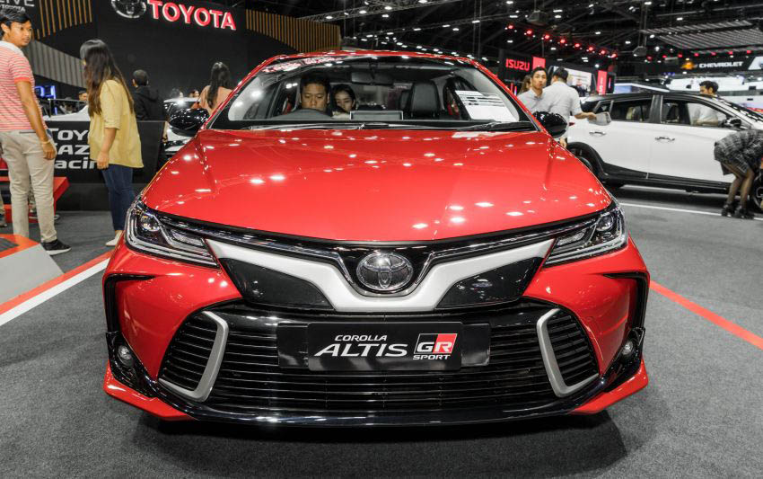 Toyota Corolla Altis GR Sport at 2019 Thai Motor Expo 2