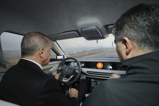 TOGG Shows First Body Assembly of Turkey's Homegrown Car 19