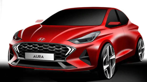 Hyundai Teases the Aura Design Sketches Ahead of Debut 1