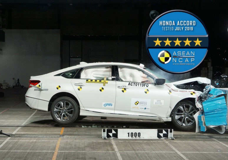 10th Gen Honda Accord Scores 5 Stars in ASEAN NCAP Crash Tests 1