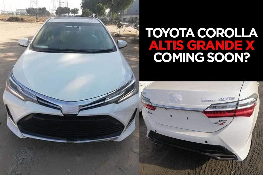 Toyota Corolla Altis Grande 1.8X Coming Soon? 1