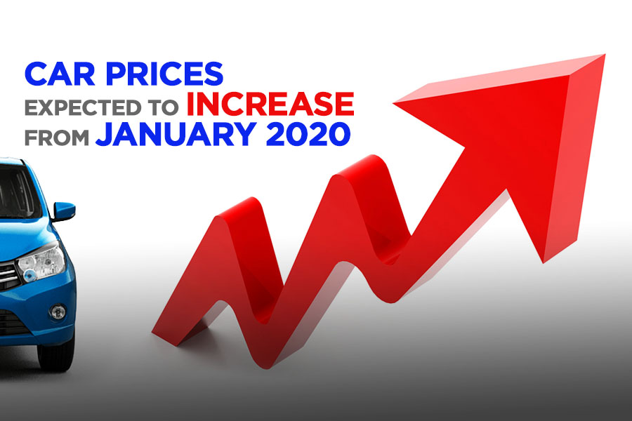 Car Prices to Increase from January 2020 5