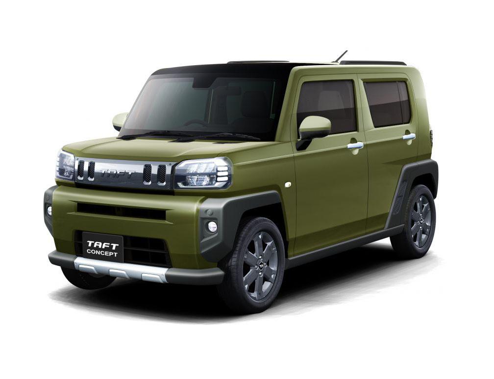 Daihatsu to Showcase Taft Concept at Tokyo Auto Salon 7