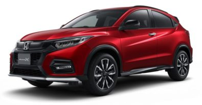Honda Vezel (HR-V) Modulo X Launched in Japan 3