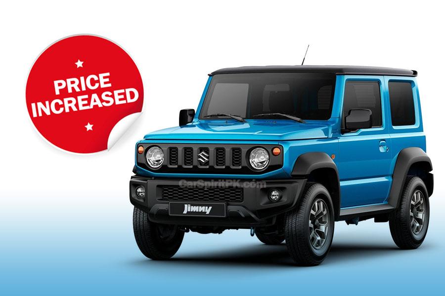 Pak Suzuki Increases Jimny Prices 4