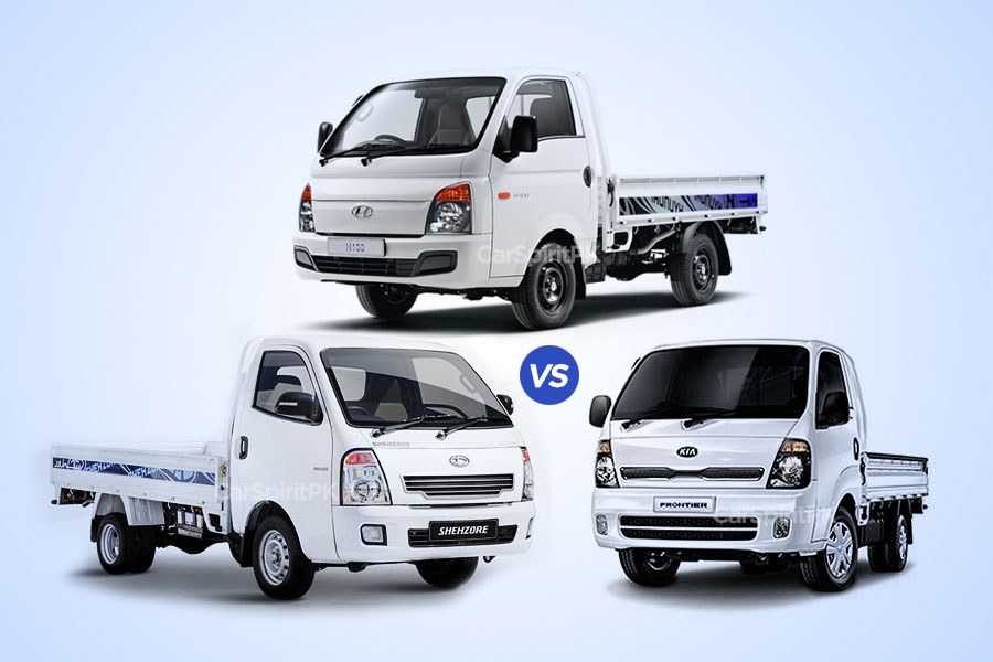 Hyundai Porter H100 Expensive than Kia Frontier and Daehan Shehzore 4