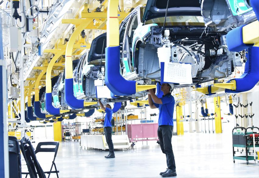 First CKD Proton X70 Rolls Off the Assembly Lines in Malaysia 12