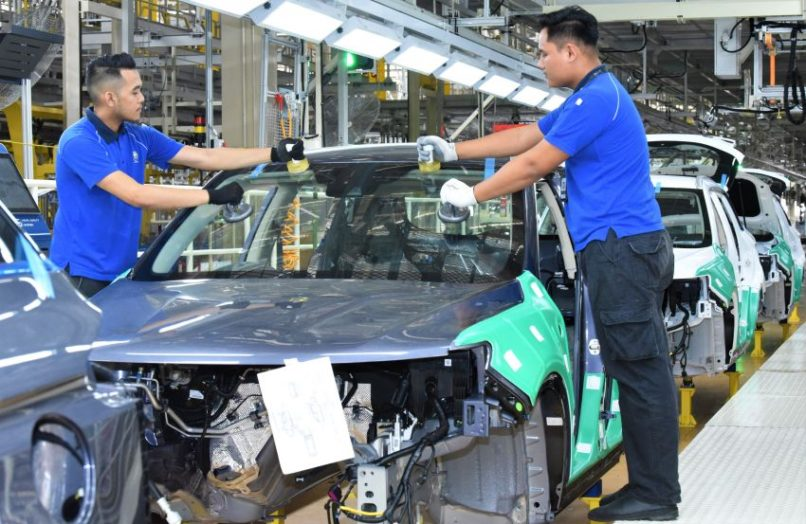 First CKD Proton X70 Rolls Off the Assembly Lines in Malaysia 11