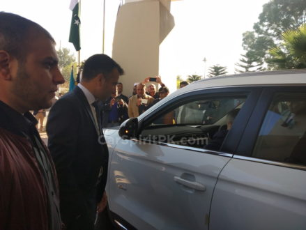 Malaysian PM's Gifted Proton X70 SUV Handed Over to Pakistan 4